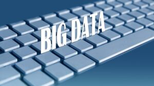 The words Big Data across a keyboard.